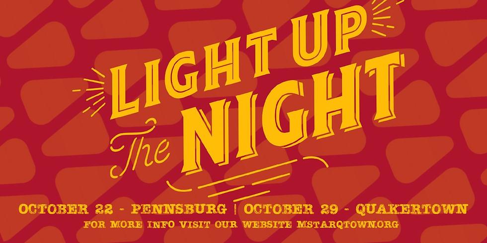 Light Up the Night PENNSBURG campus