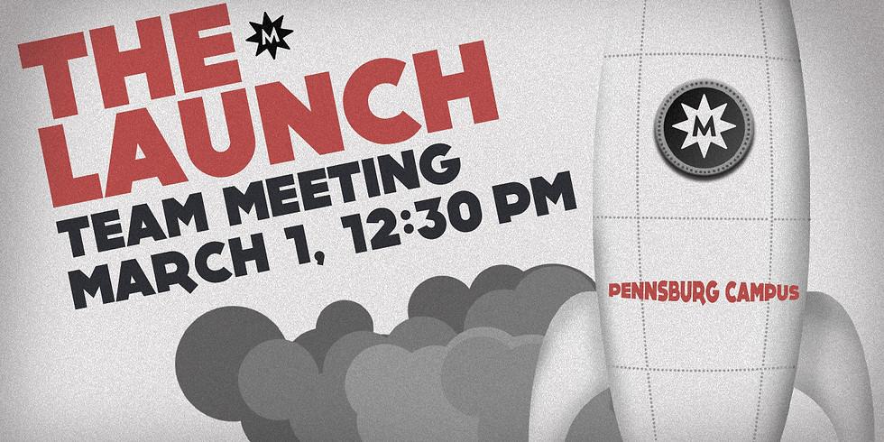 Pennsburg Launch Team Meeting