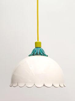 """מנורה לפינת אוכל - קוטר 25 ס""""מ  650 ש""""ח"""