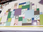 אריחים מיוחדים צבעוניים מצוירים דוגמאות