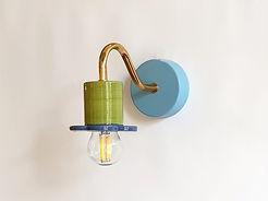 """דגם 9 - צמוד קיר צבעוני קטן מקרמיקה - 390 ש""""ח"""