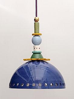 """מנורת קרמיקה - קוטר 25 ס""""מ  820 ש""""ח"""