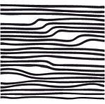 קווים דקים גלים