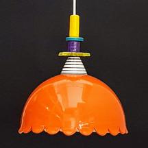מנורה כתומה צבעונית לפינת אוכל.jpg