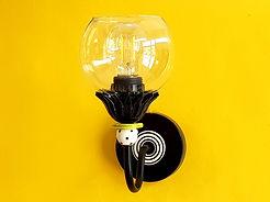 """דגם 2 - מנורת קריאה מיוחדת ומעל מראה - קוטר 12 ס""""מ - 480 ש""""ח"""