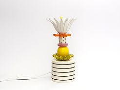 """מנורה קטנה דקורטיבית צבעונית -  גובה 25 ס""""מ - 650 ש""""ח"""
