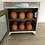 Thumbnail: wooden cupboard 12 egg storage with mesh door and metal handle H23.5 W22.5 D12cm
