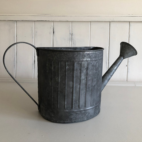 wall mounted plant holder watering can metal novelty garden