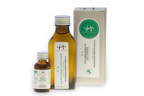 Olio Aromatico Biologico Dieci Essenze