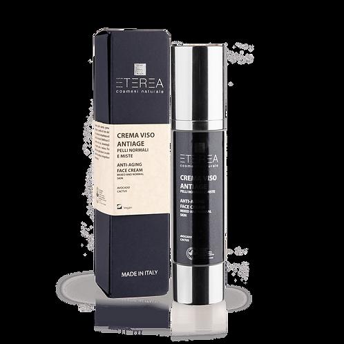 Crema viso antiage pelli normali e miste 50 ml