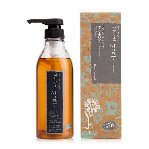 Organic Seeds Shampoo for Oily Scalp