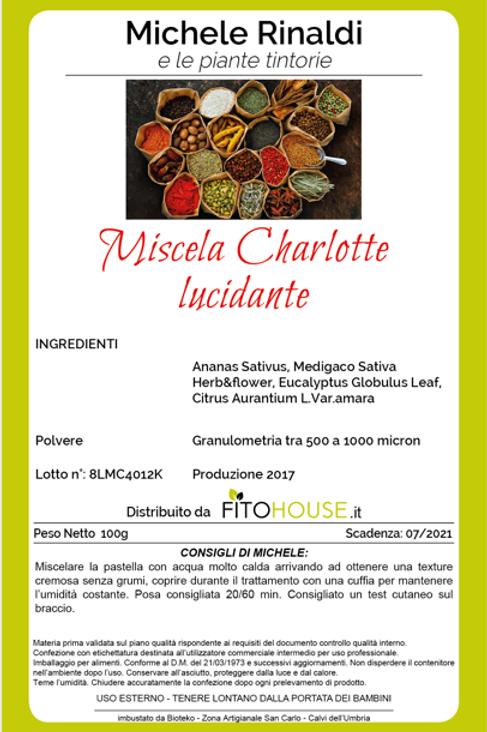 MICHELE RINALDI -MISCELA CHARLOTTE LUCIDANTE