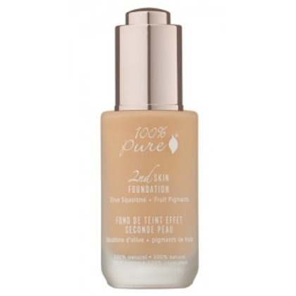 2ND SKIN FOUNDATION: OLIVE + FRUIT PIGMENTS peach bisque