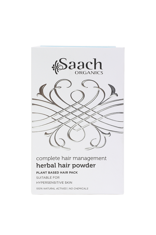 herbal hair powder