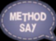 Метод SAY