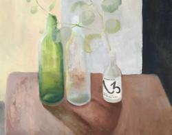 Eucalyptus & Bottles