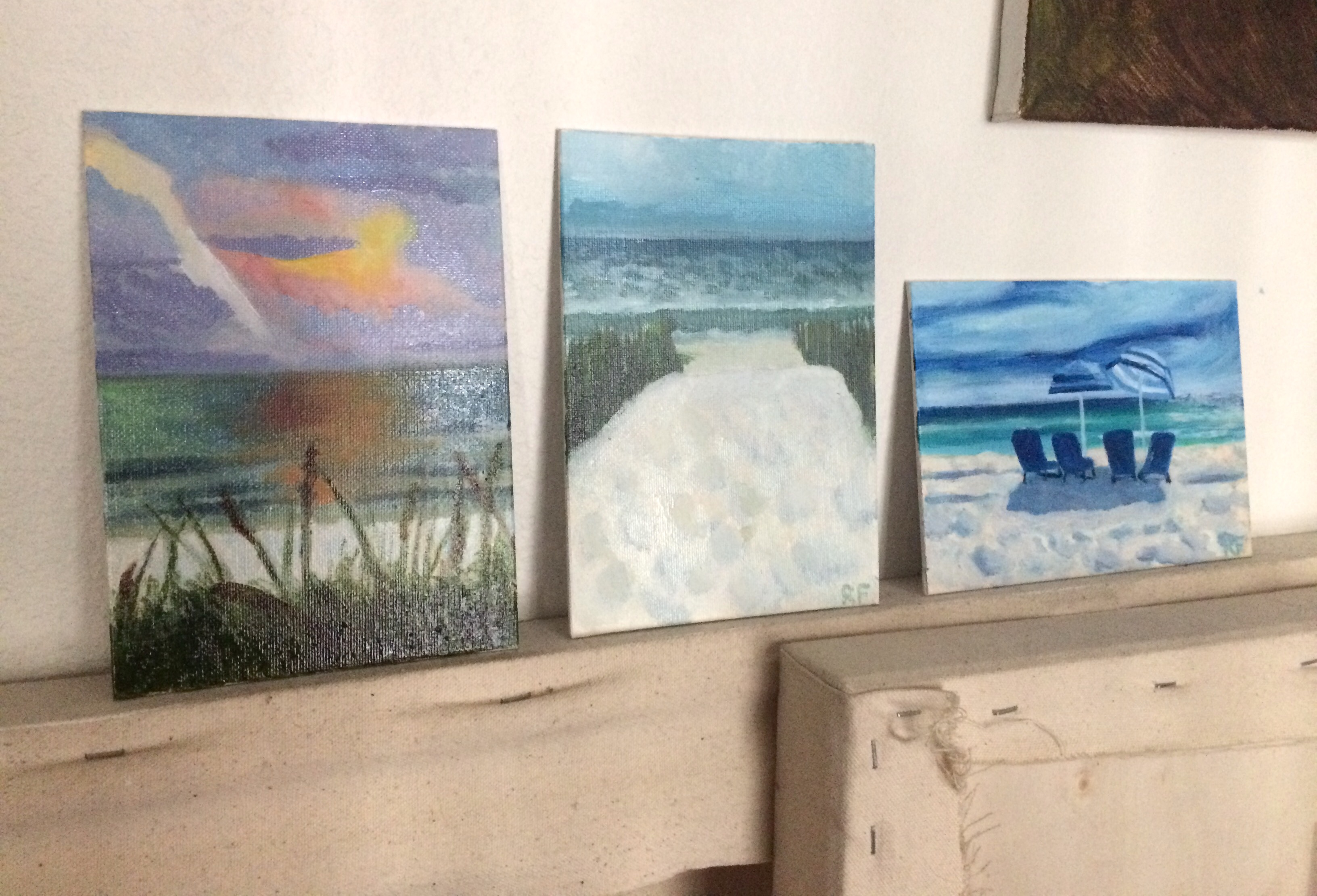 Florida beach paintings