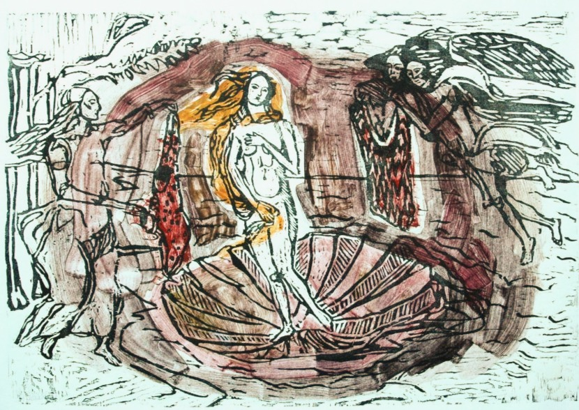Venus Born Among Personal Knitters III