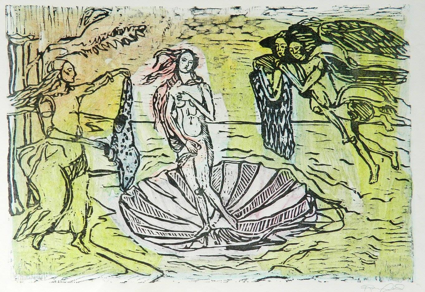 Venus Born Among Personal Knitters II