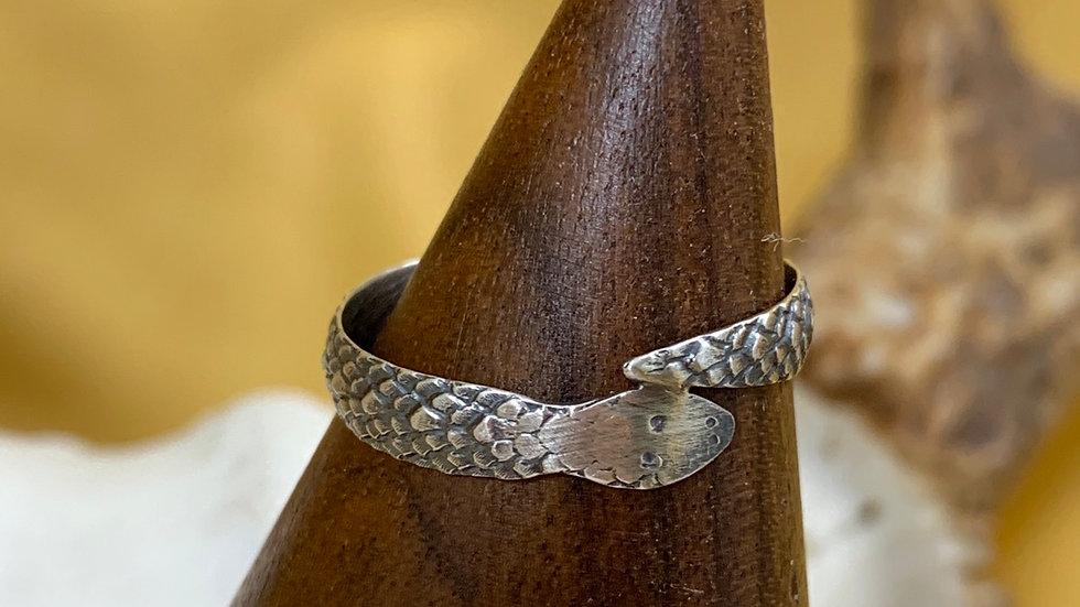 Snake sterling ring