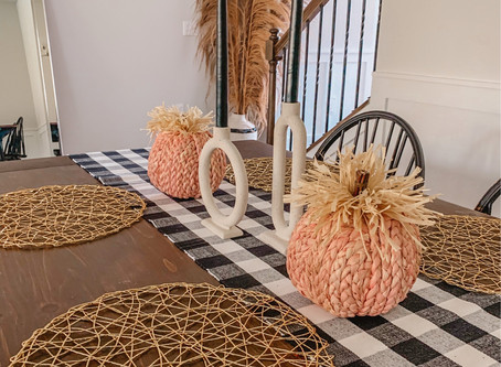 Fall Tablescape Details!