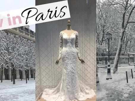 Liv in Paris 14: Snow Storm in Paris