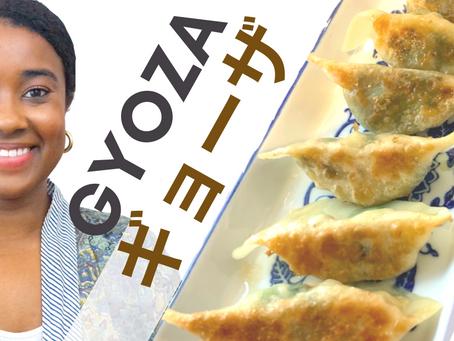 Making Kimono Mom's GYOZA Dumplings | #ChefLiv