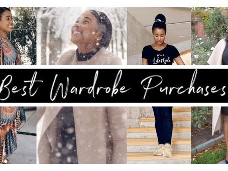 the BEST wardrobe purchases | Closet Essentials