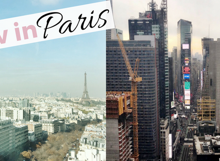 Liv in Paris 8: Life in NYC vs Paris