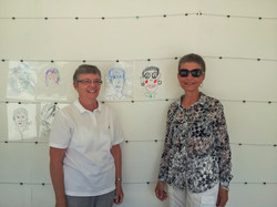 Participants and their portraits