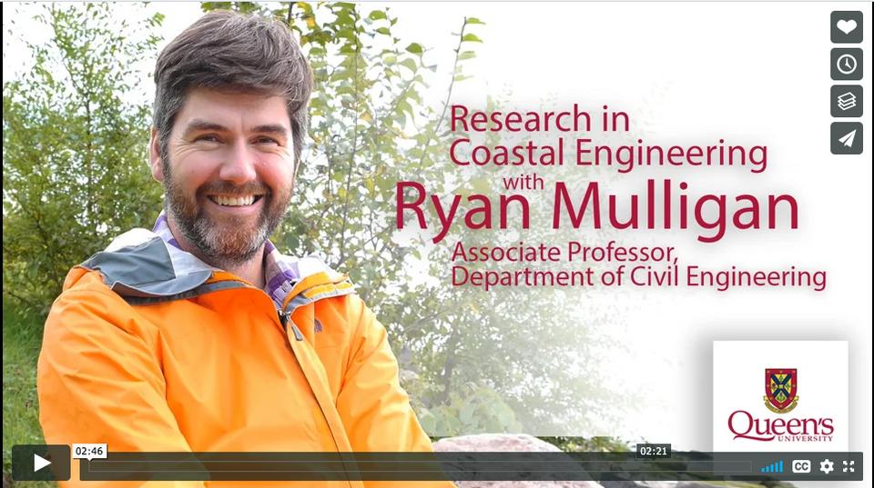 Research in Coastal Engineering with Ryan Mulligan