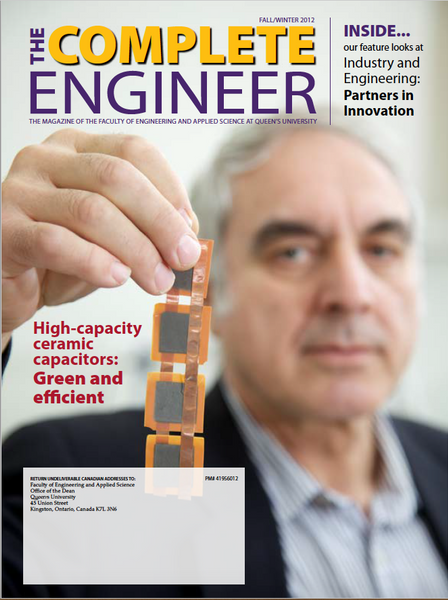The Complete Engineer Fall/Winterinter 2012