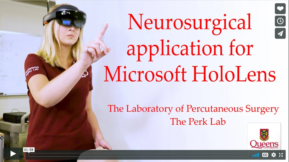 Neurological Application for Microsoft HoloLens