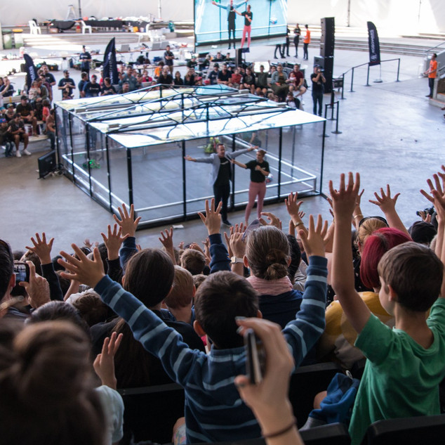 Robowars 2018 - Crowd engagement