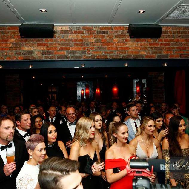 Full room at 2017 Elixir Gala Ball