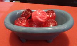 Tina de rosas
