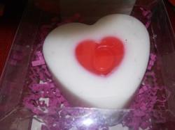 Jabón decorativo corazón