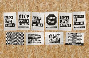 Black Lives Matter Free Posters