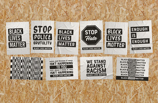 Black Lives Matter Free Posters