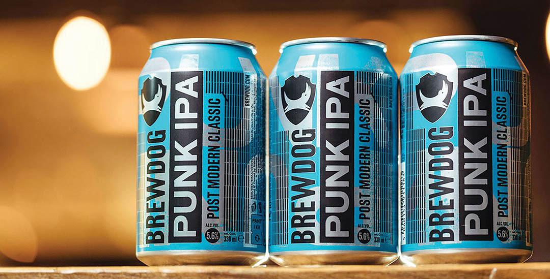 BrewDog USA Punk IPA Can New