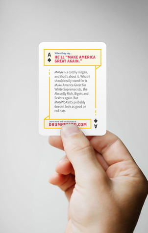 Drumpf Card