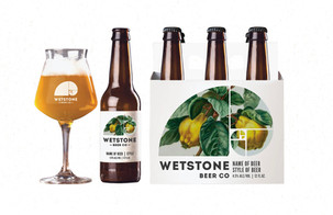 Wetstone Beer Co Branding