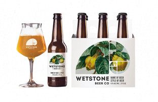 Wetstone Beer Co Branding
