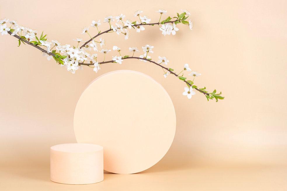 Imagem de um pedestal com nosso produto.