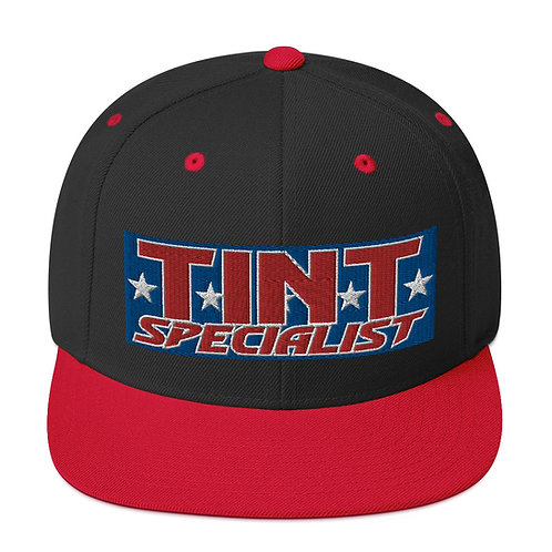 Red White and Blue Yupoong Snapback Hat
