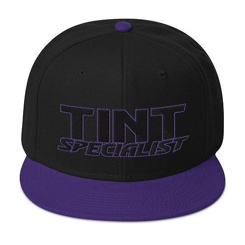 Black Purple Otto Snapback Hat