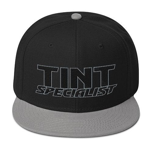 Black Gray Otto Snapback Hat