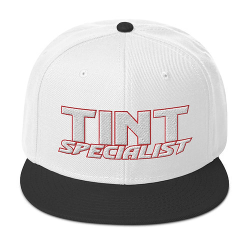 White Red Otto Snapback Hat