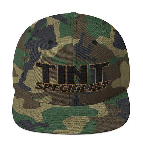 Black and Gold Yupoong Snapback Hat
