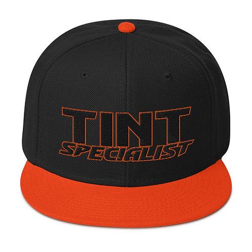 Black Orange Otto Snapback Hat
